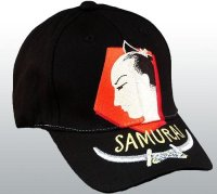 """SAMURAI  WARRIOR"" CAP"